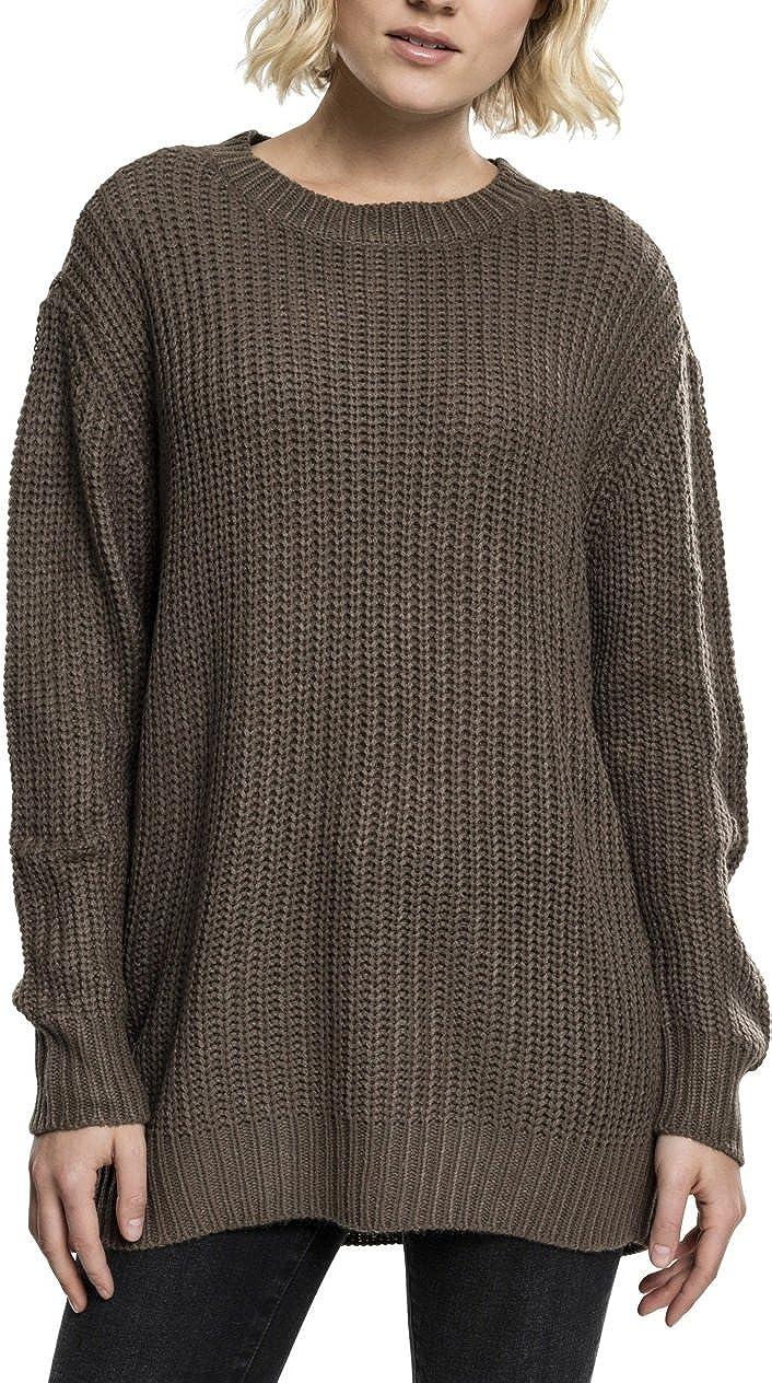 Urban Classics Ladies Basic Crew Sweater su/éter para Mujer