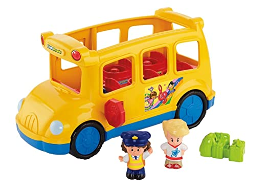 Fisher-Price Little People School Bus: Amazon.co.uk: Toys & Games