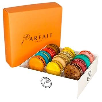 Macarons franceses por galardonada panadería Le Parfait ...
