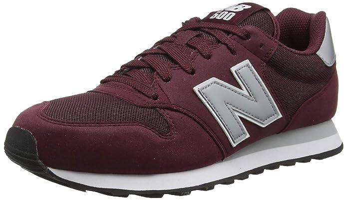 New Balance 500 Core Sneakers Herren Burgunder Rot