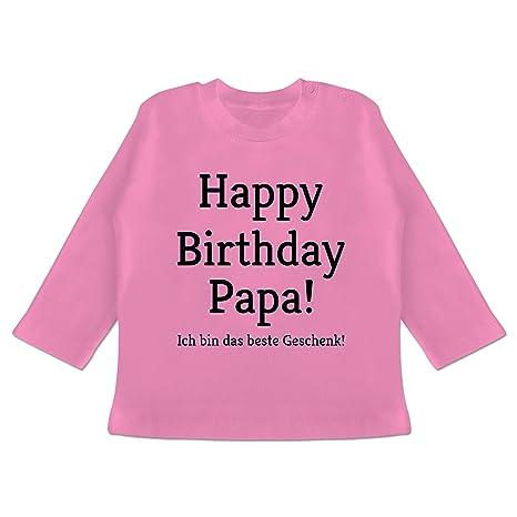 Happy Birthday Mama Baby T-Shirt Langarm Anl/ässe Baby