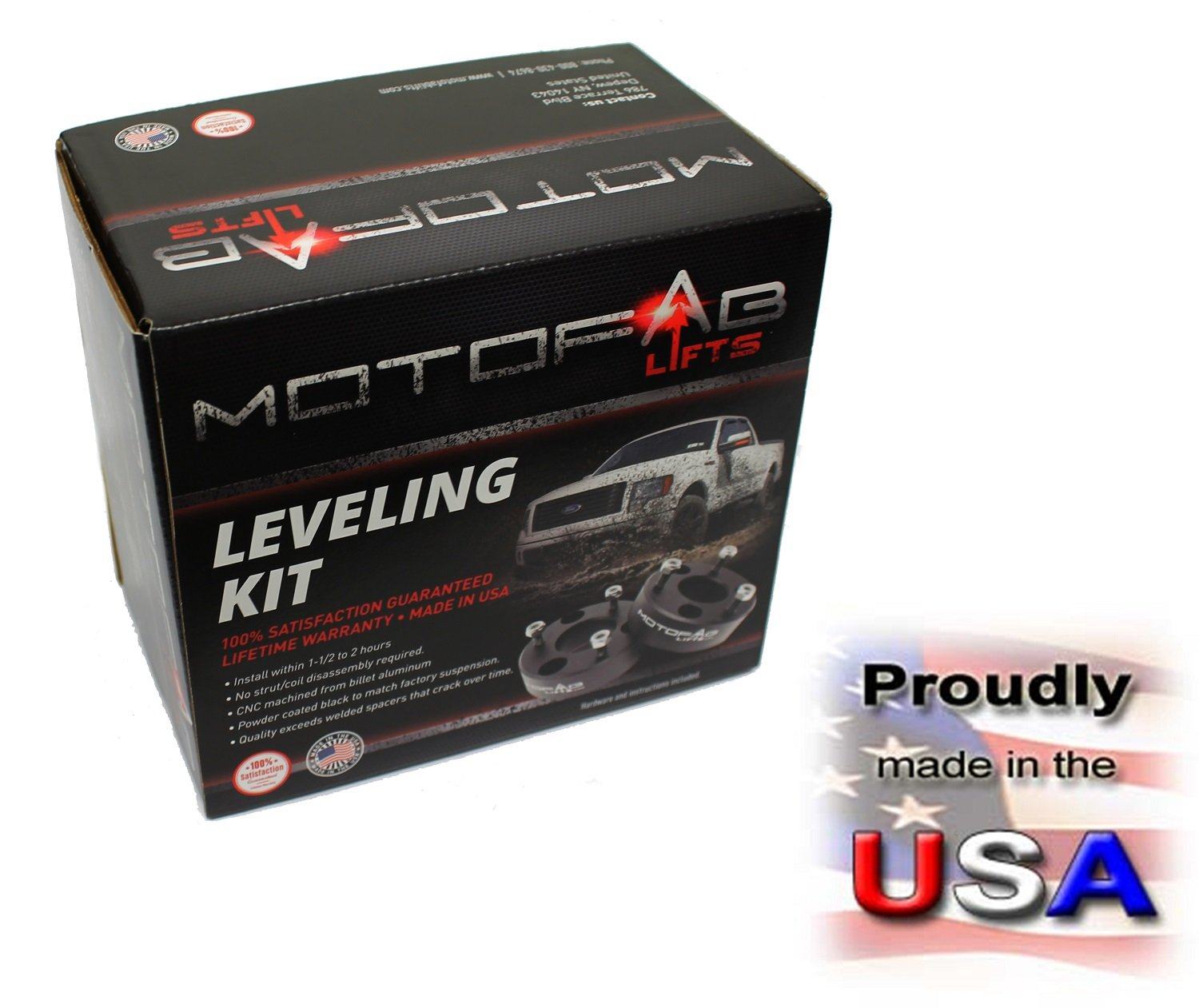 MotoFab Lifts F150-3 - 3'' Front Leveling Lift Kit That Will Raise The Front Of Your F150 3''
