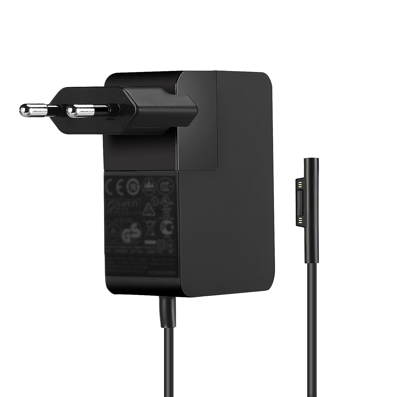 YOUNGE®Cargador de Energía del Adaptador 24W 15V 1.6A para Microsoft Windows Surface Pro 4 M3 i5 Model 1735 1736 Tablet