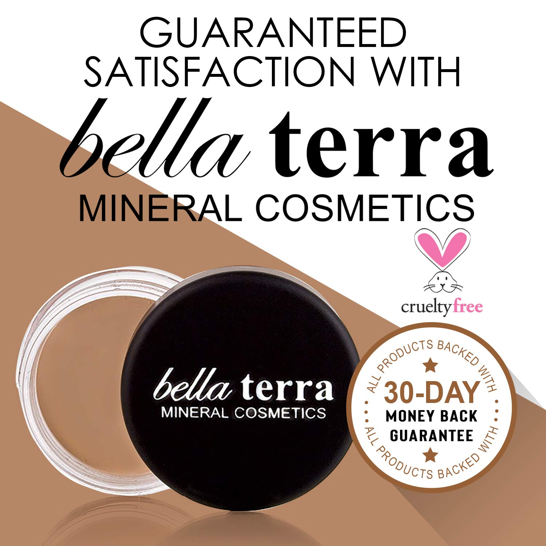 Bella Terra Eye Primer | All-day Eye Shadow Base |Eyelid Concealer for Dark Circles and Veins | Fragrance-Free for Sensitive Skin (.32 ounce) by Bella Terra Cosmetics