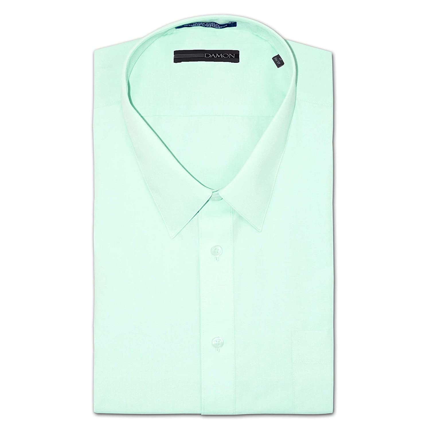 Amazon Damon Big And Tall Easy Care Ultra Poplin Dress Shirt