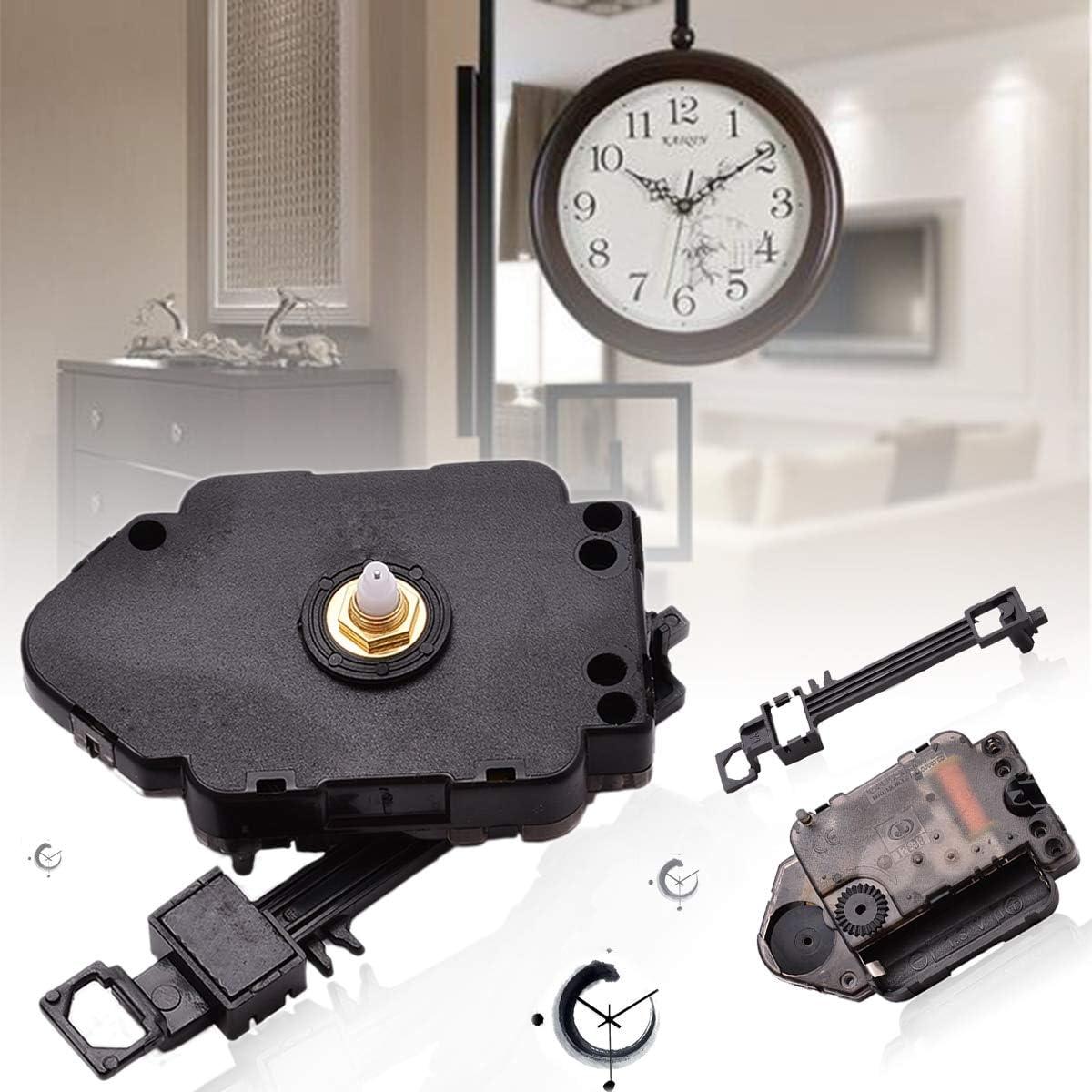 Swing Pendulum Quartz Clock Movement Mechanism Kit Motor Hanger Decor DIY Home