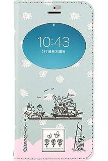 ed317af64d iPhone8 iPhone7 ケース 手帳型 ムーミン 窓付き キャラクター カード収納/ムーミン一家