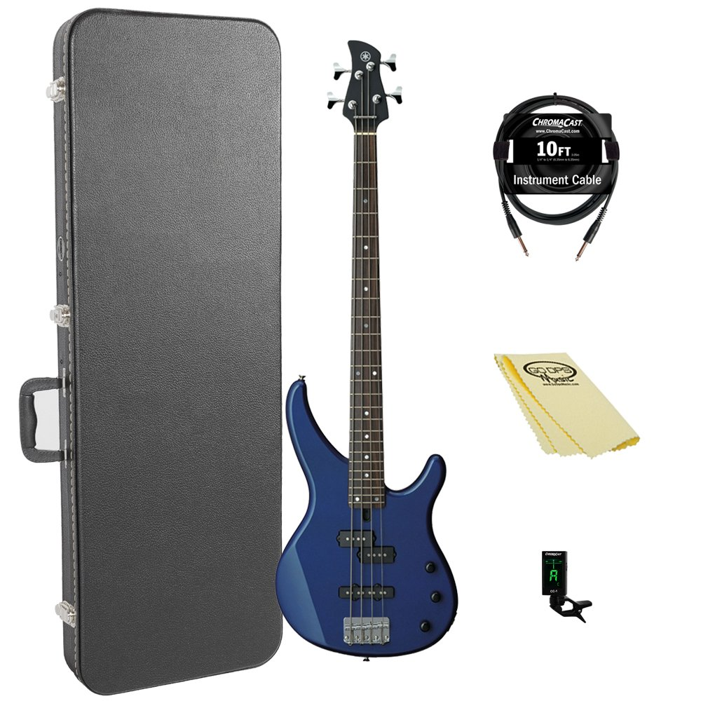 Yamaha TRBX174 DBM 4-String Bass Guitar Pack