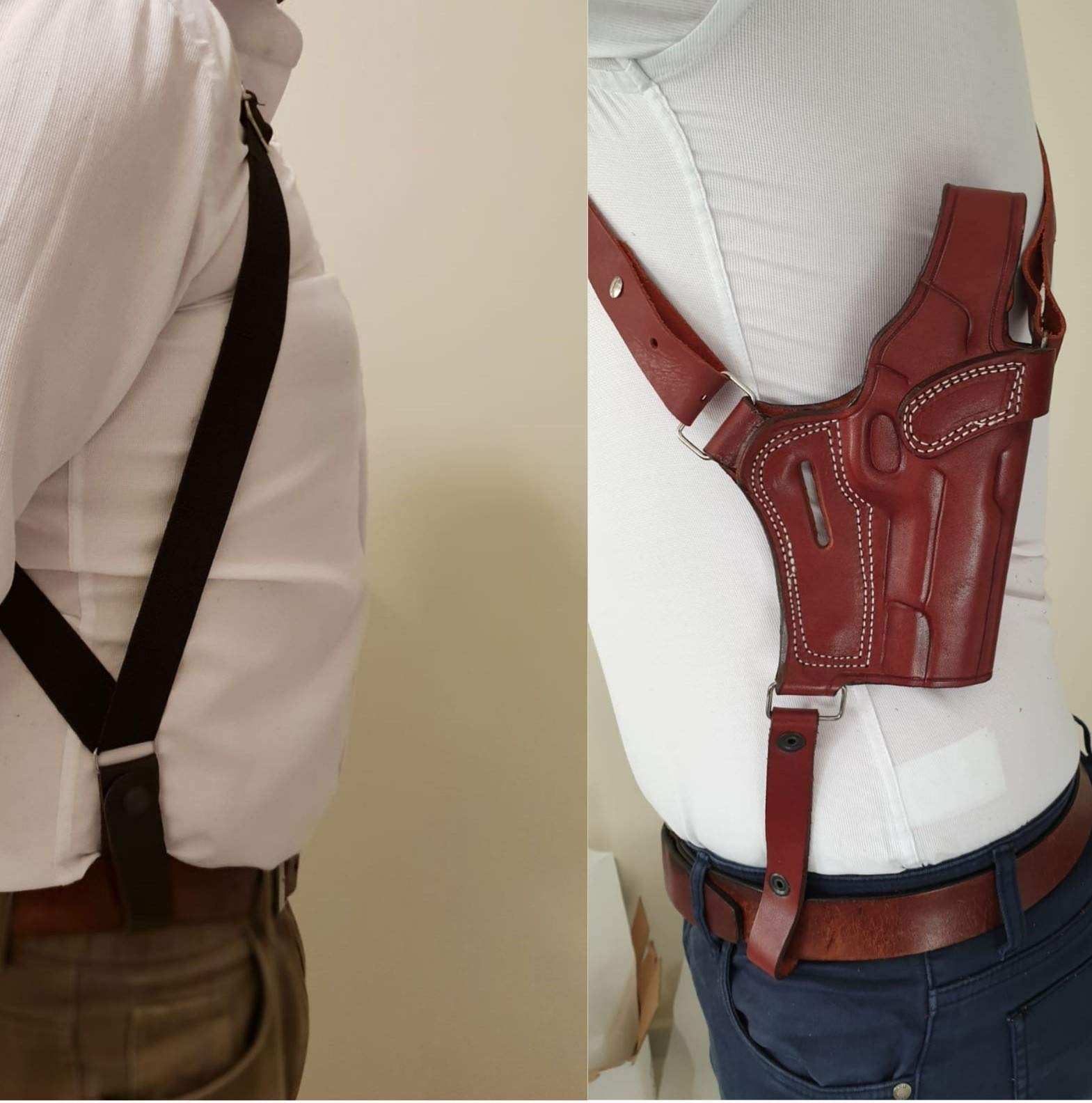 Shoulder Holster for Springfield XDS - Genuine Leather - Handmade - Premium Quality by KoHolster