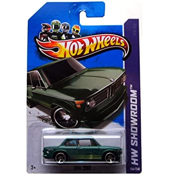 Hot Wheels 2013, BMW 2002 (GREEN), HW SHOWROOM, #154/250. 1:64 Scale. by Mattel by Mattel: Amazon.es: Juguetes y juegos