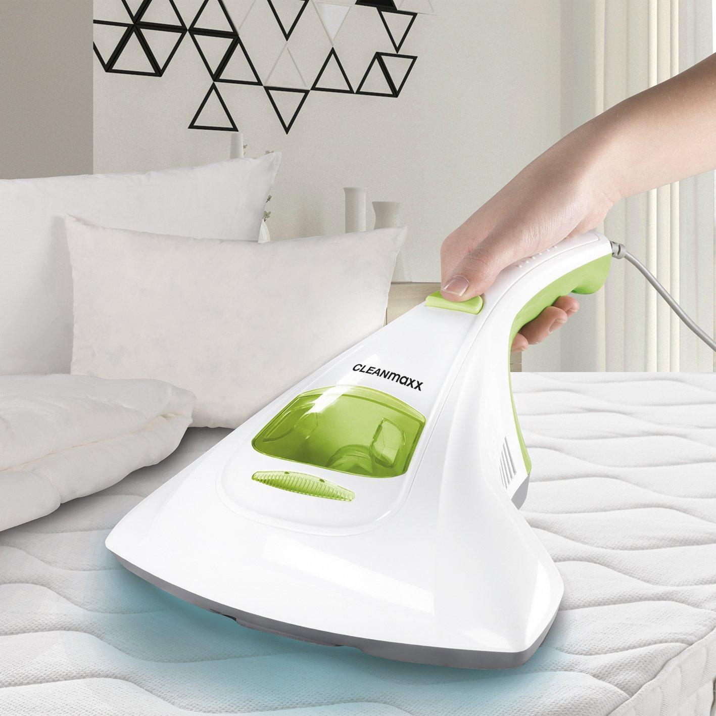 CLEANmaxx 02243 Aspirabriciole Senza Sacchetto | Aspirapolvere per materassi | Aspirapolvere Antiacari