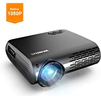 Projector 1080P,WiMiUS Video Projector HD 1080P (Green)
