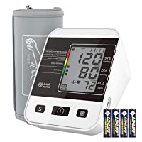 Blood Pressure Monitor for Home Use with Large LCD Display,Annsky Digital Upper...