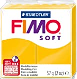 Fimo - Pasta de modelar soft 57, color amarillo