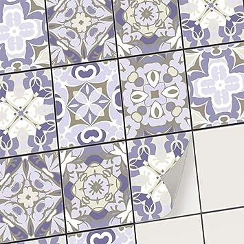 creatisto Carrelage adhesif - Stickers Salle de Bain et Cuisine I Feuille  adhésive décorative Carreaux - Mosaïque carrelage Mural I Stickers  carrelage ...
