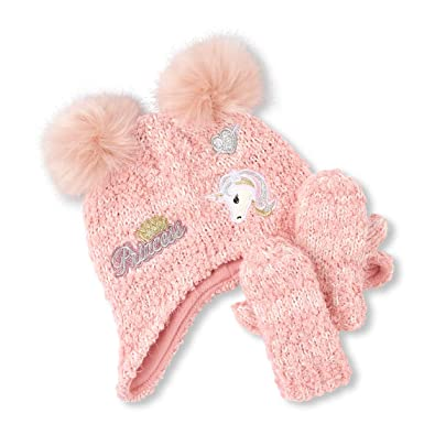 The Children's Place Baby Girls Cold Weather Set, SACHETPINK, M (2T/3T)