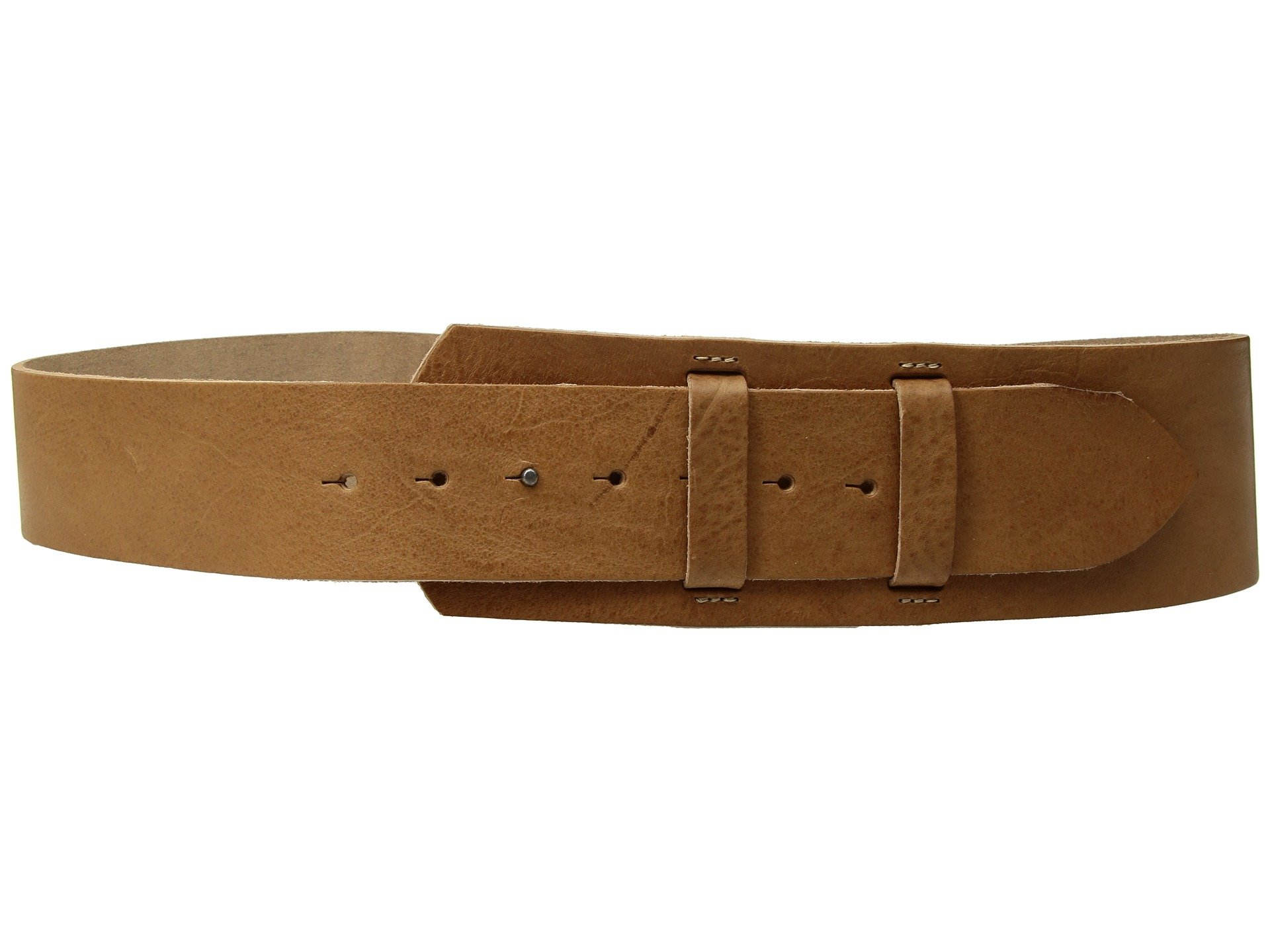Amsterdam Heritage Leather Belt 80001 Wide Cinch Tan belt by Amsterdam Heritage