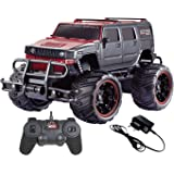 Magicwand 1:20 Scale Off-Road Monster Racing H2 Hummer (Red & Black)