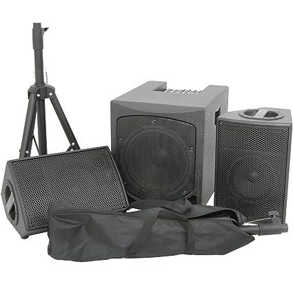 PRO - 1200W Powered/Active 2 1 Speaker Kit-15
