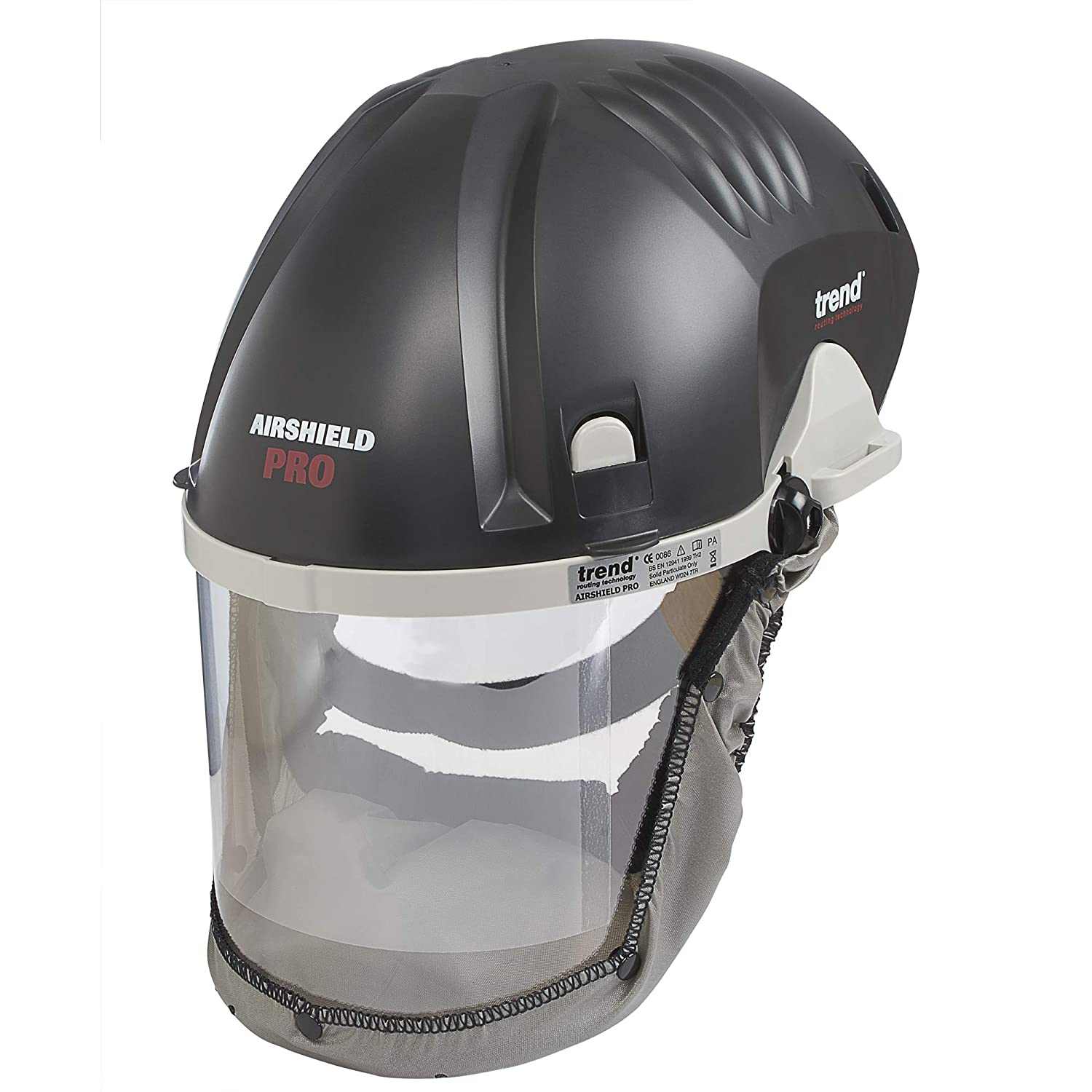 Trend Airshield Pro Faceshield Dust Protector Review 1