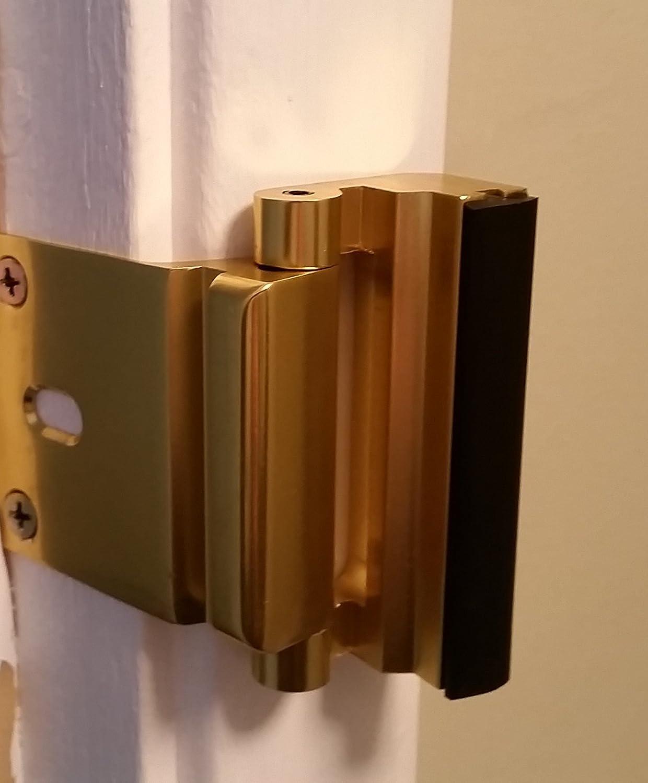 Verrou de porte en Laiton 12 x plus r/ésistant quun /équivalent en p/êne dormant Viper