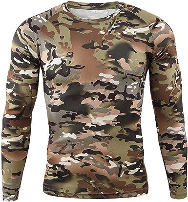 Hombre Camisa Táctica Militar Al Aire Libre Airsoft Paintball ...