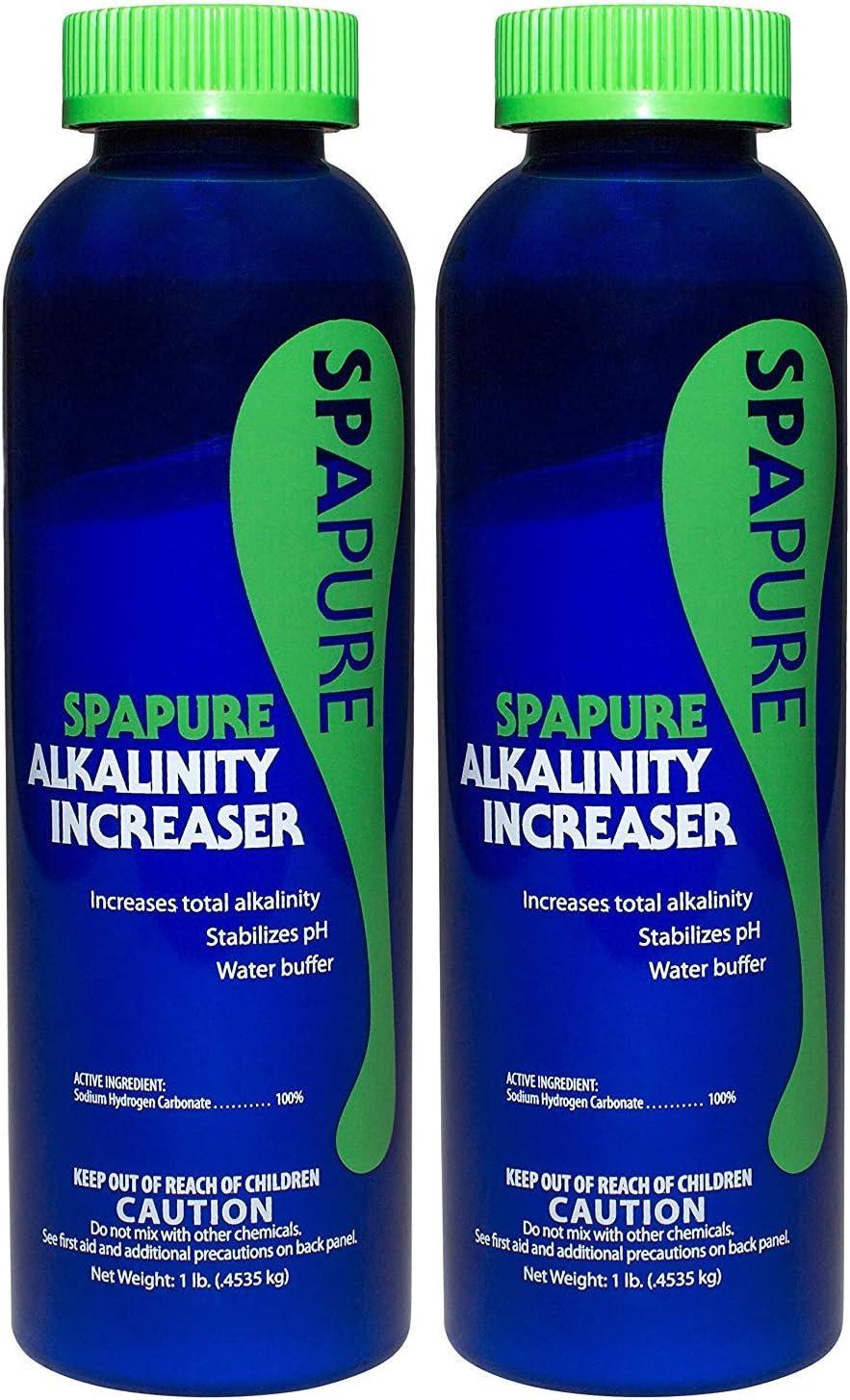 PureSpa SpaPure Alkalinity Increaser (1 lb) (2 Pack)