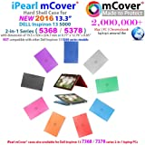 """iPearl mCover Hard Shell Case for 2016 13.3"""" Dell"""