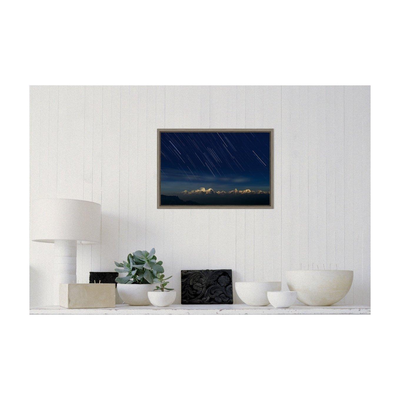 Amanti Art Starry Night by Hua Zhu Canvas Art Framed