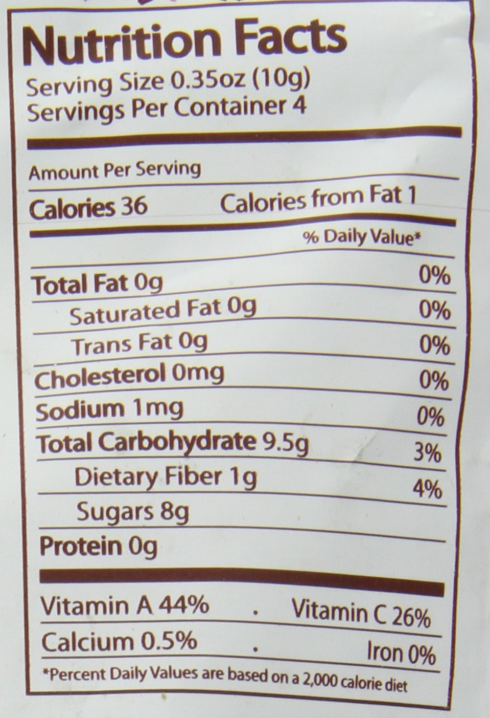 Nature's All Foods Organic Freeze-Dried Mango, 1.5 Ounce (Pack of 3) by Natierra (Image #2)