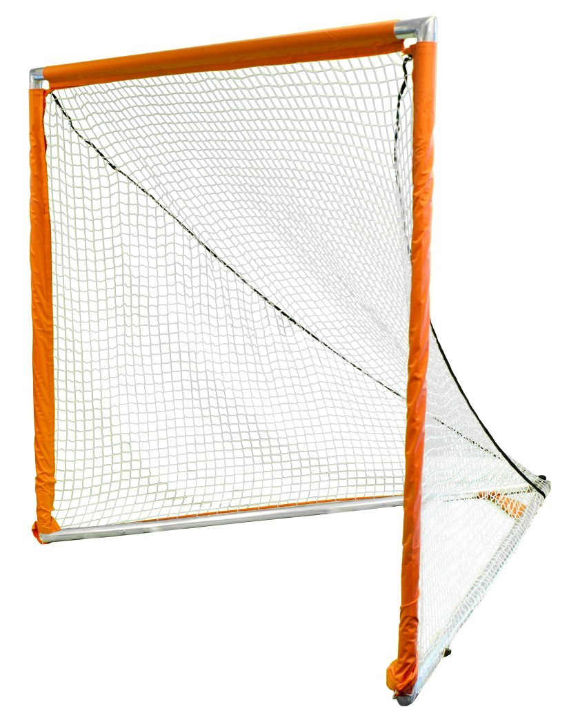 6 W x 6 H x 7 D White Lacrosse Goal Park /& Sun Sports Indoor//Outdoor Nylon Bungee Slip Net with Velcro Sleeves
