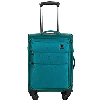 9987f4631fd52 Titan Cloud 4w Trolley S, Aqua, 378406-22 Hand Luggage, 54 cm, 35 ...