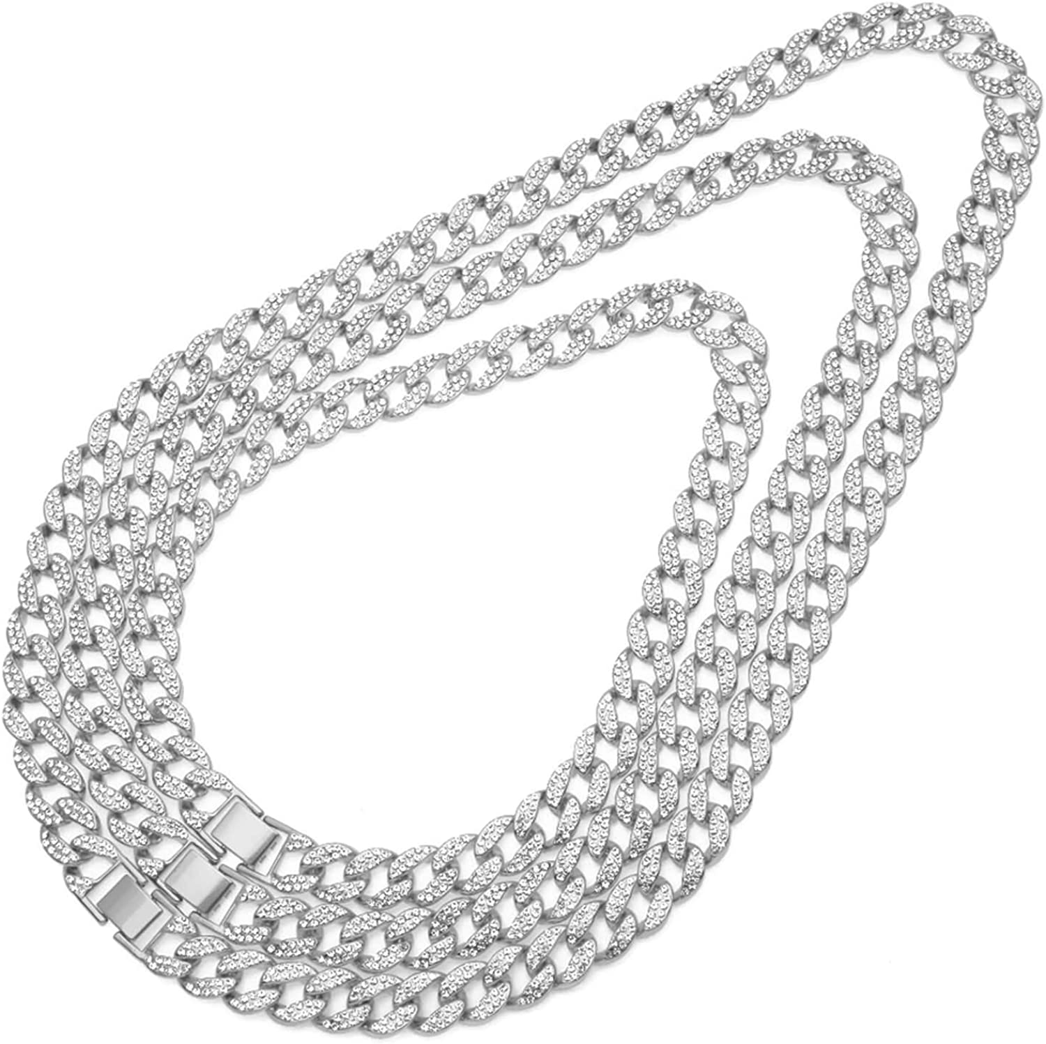 Alloy Curb Chain Necklace for Men Gnzoe Mens Stainless Steel Chain