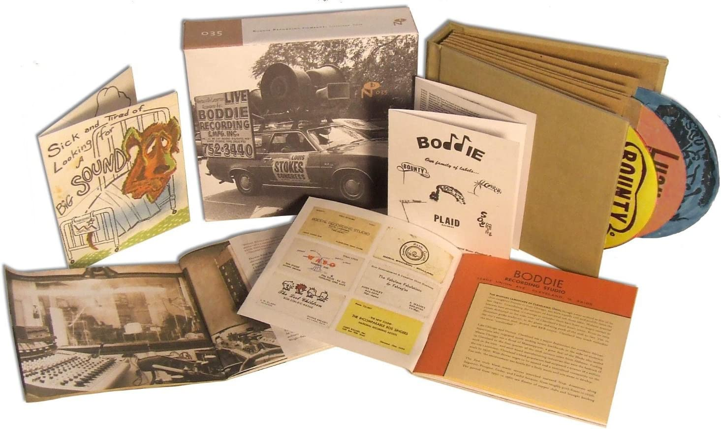 BODDIE RECORDING COMPANY: Amazon.co.uk: Music