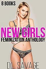 New Girls: 8 Books Crossdressing Feminization Anthology Kindle Edition