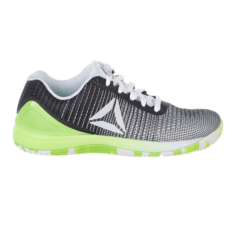 Reebok Women's Crossfit Nano 7.0 Track Shoe B076JJB3PS 6 B(M) US|Neon White/Black/Solar Green