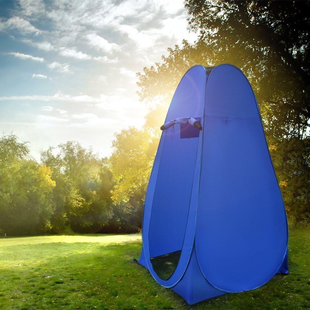 LOKEP Portable Privacy Shelter Outdoor Pop up Camping Utility Dressing fasciatoio WC Tenda Doccia Camera da Spiaggia con Borsa per Il Trasporto 120/x 120/x 190/cm