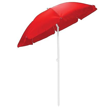 Picnic Time Outdoor Canopy Sunshade Umbrella 5.5