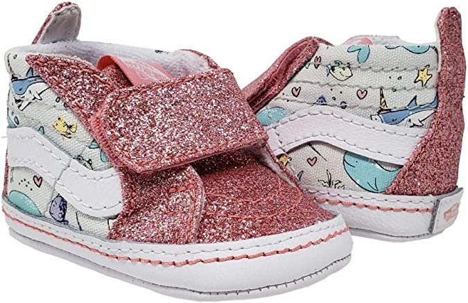 Vans Kids Baby Girl's Slip-On V Crib