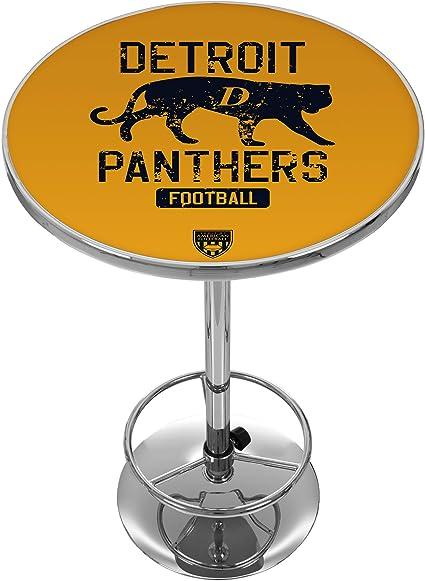VAF Detroit Panthers Chrome Pub Table Trademark Global VAF2000-DP