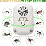 Kacool Rodent Repellent, Ultrasonic And Electromagnetic Dual Frequency Pest Control Device,White