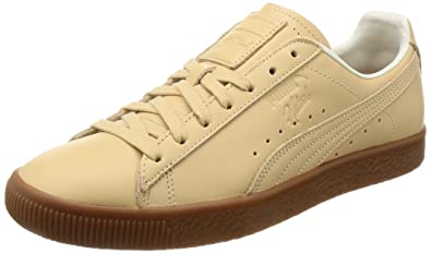 Puma Clyde Veg Tan NATUREL Schuhe natural vachetta: Amazon