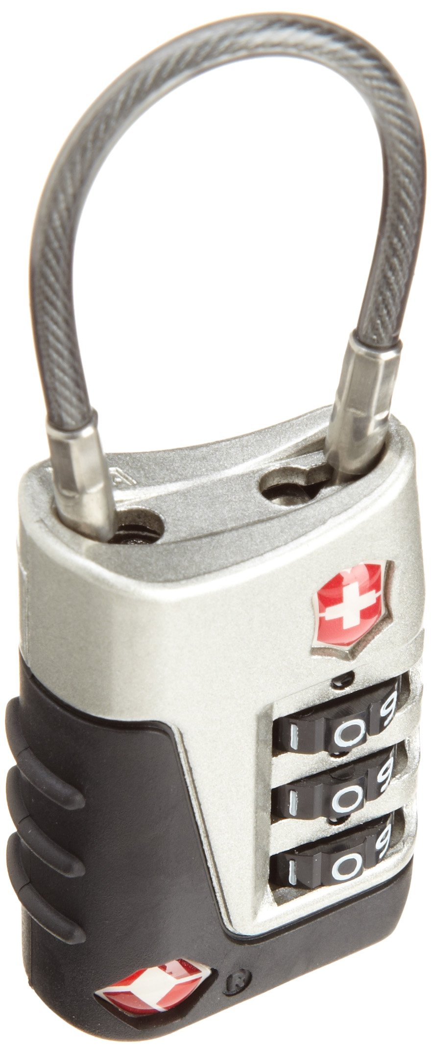 Victorinox  Travel Sentry Approved Cable Lock,Silver,One Size