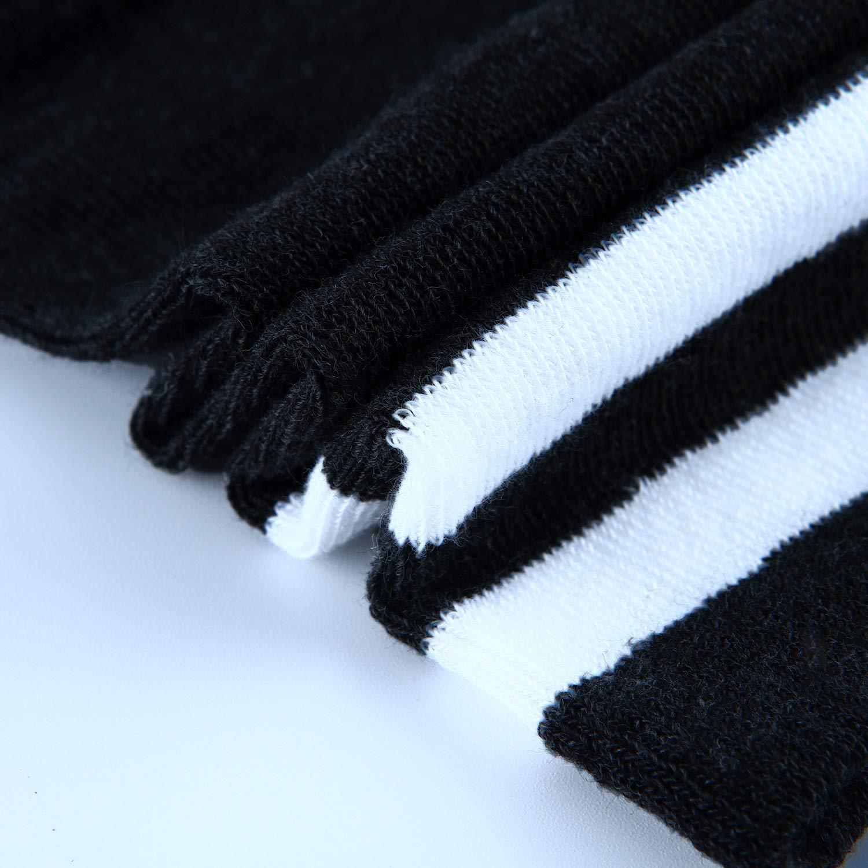 Aneco Over Knee Thigh Socks Women Boot Sock Knee-High Warm Stocking High Socks Girl Leg Warmer for Daily Wear Cosplay