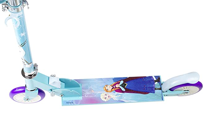 Amazon.com: Disney Frozen Elsa 2 ruedas Scooter Outdoor Play ...