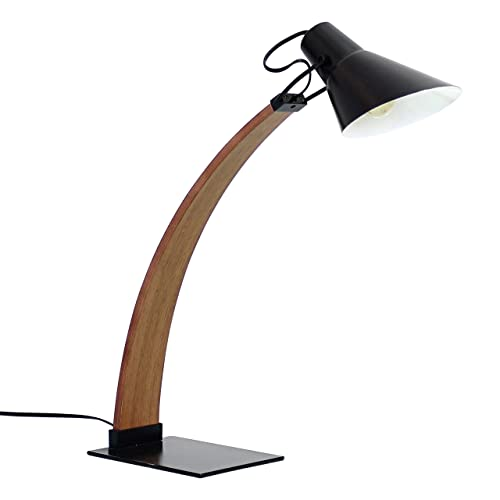 WOYBR LS WL BK Wood, Metal, Electrical Noah Table Lamp