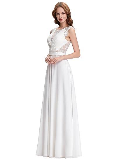 4dab2b786 Vestido NOVIA fiesta madrina gala boda ceremonia talla 40  Amazon.es  Ropa  y accesorios