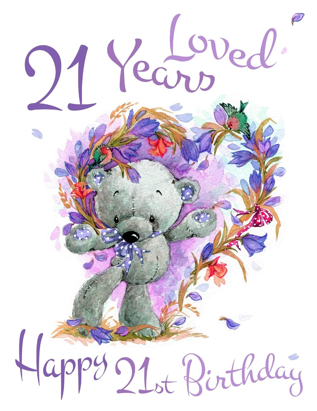 Happy 21st Birthday Images.Happy 21st Birthday 21 Years Loved Say Happy Birthday And