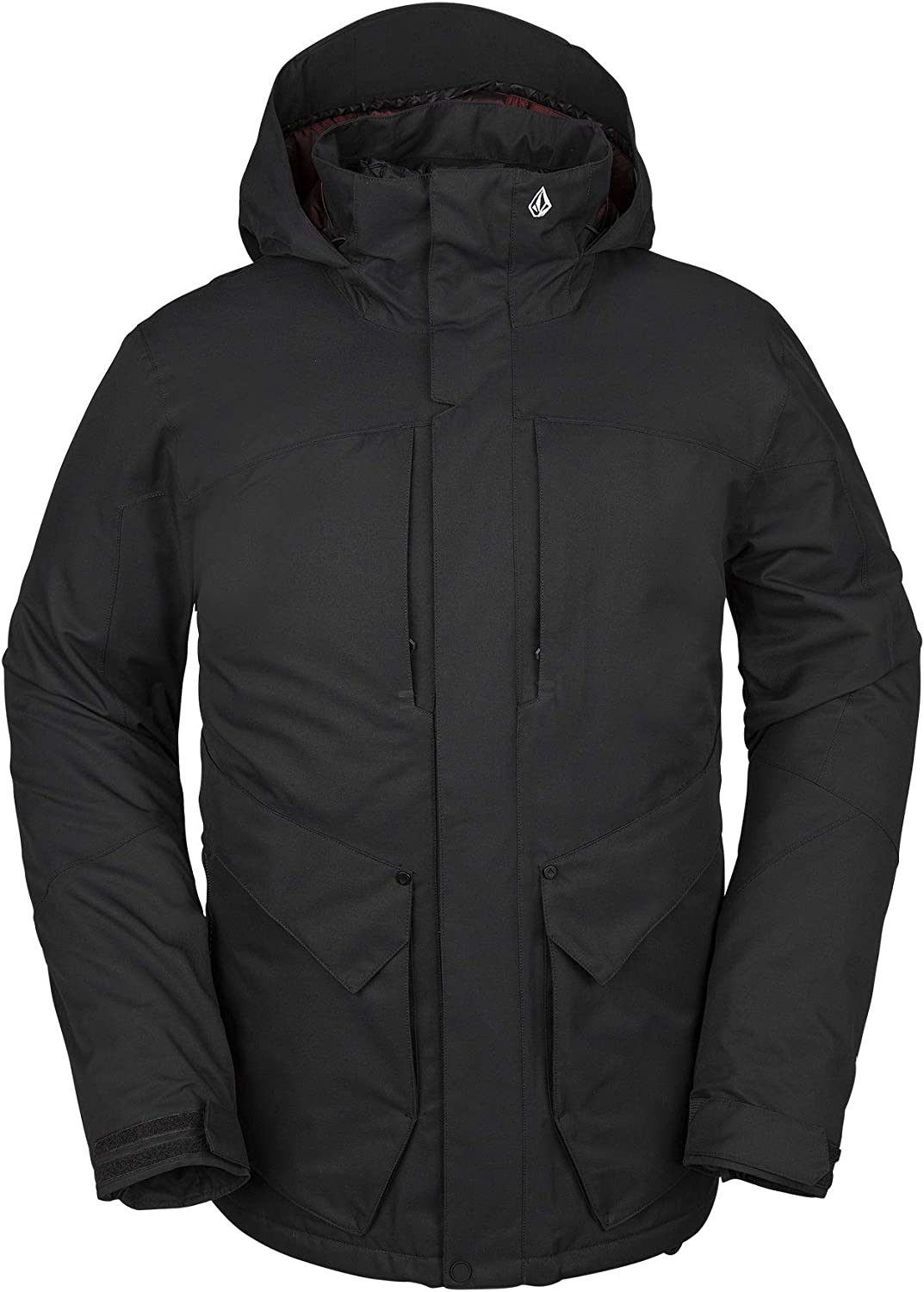 Volcom Mens Anders 2l Thermal Lined Snow Jacket