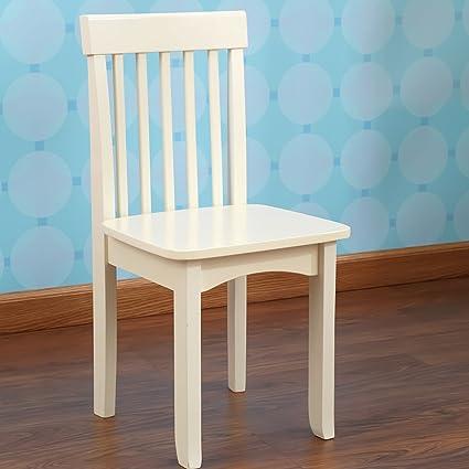 amazon com kidkraft avalon chair for children vanilla toys games